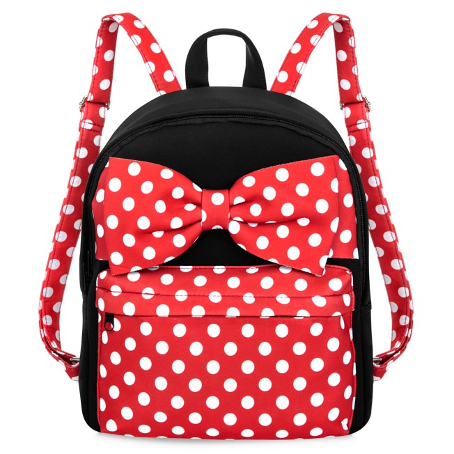 Minnie Mouse Polka Dot Backpack