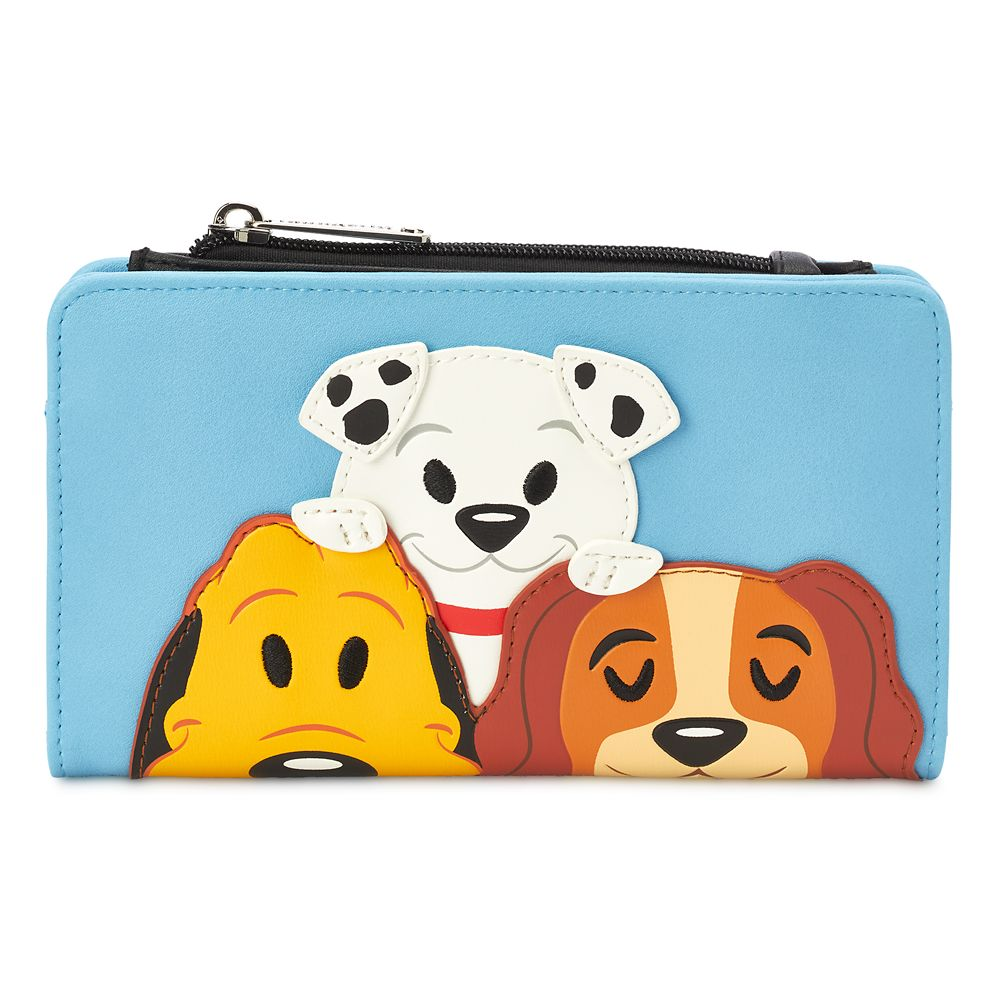 shopdisney.com - Disney Dogs Loungefly Wallet 50.00 USD