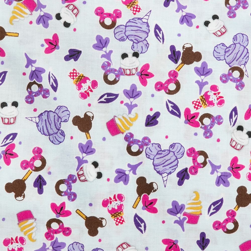 Mickey Mouse Sweet Treats Triple Zip Hipster Bag by Vera Bradley