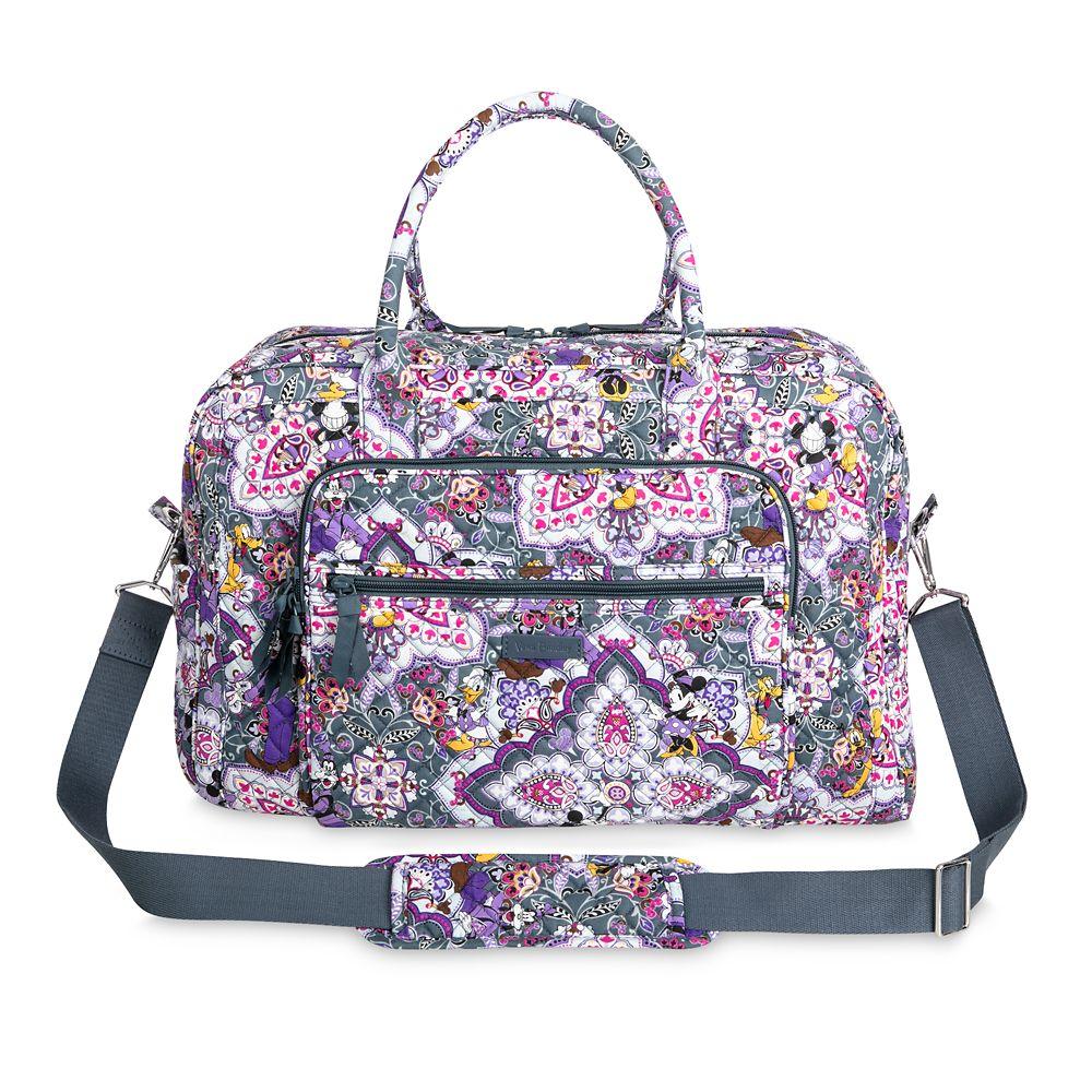 Mickey Mouse Sweet Treats Weekender Travel Bag by Vera Bradley