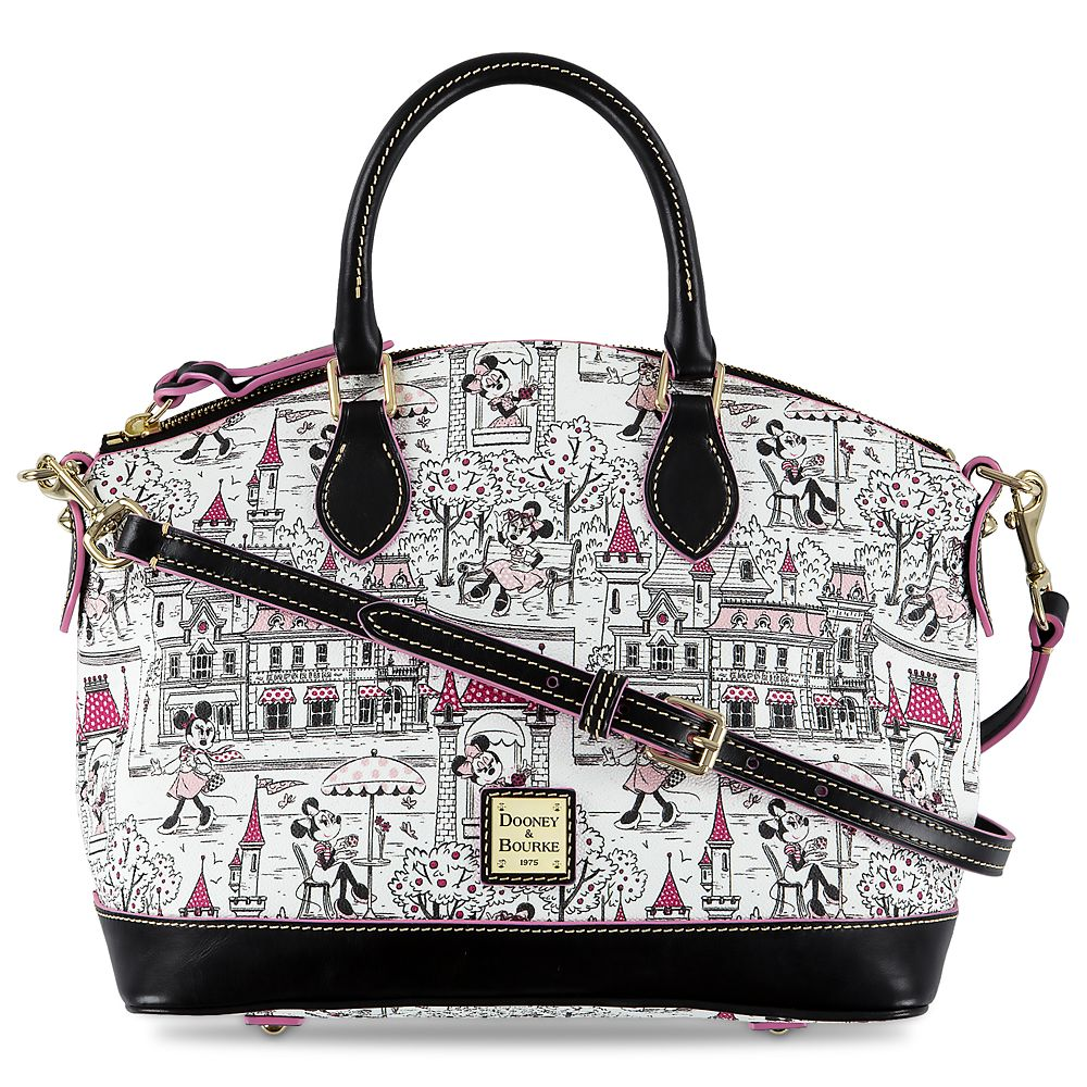 Minnie Mouse Disney Parks Satchel by Dooney & Bourke