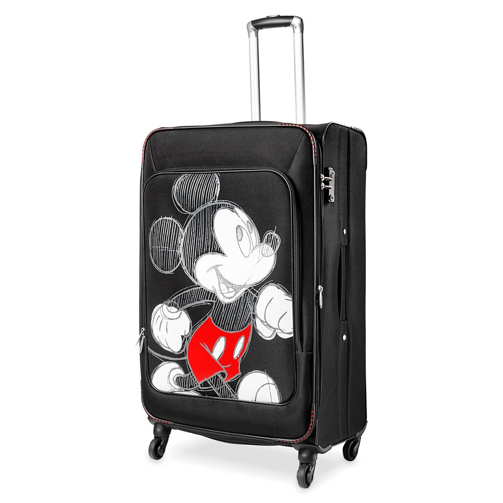 Mickey Mouse Sketch Rolling Luggage – Large 28''