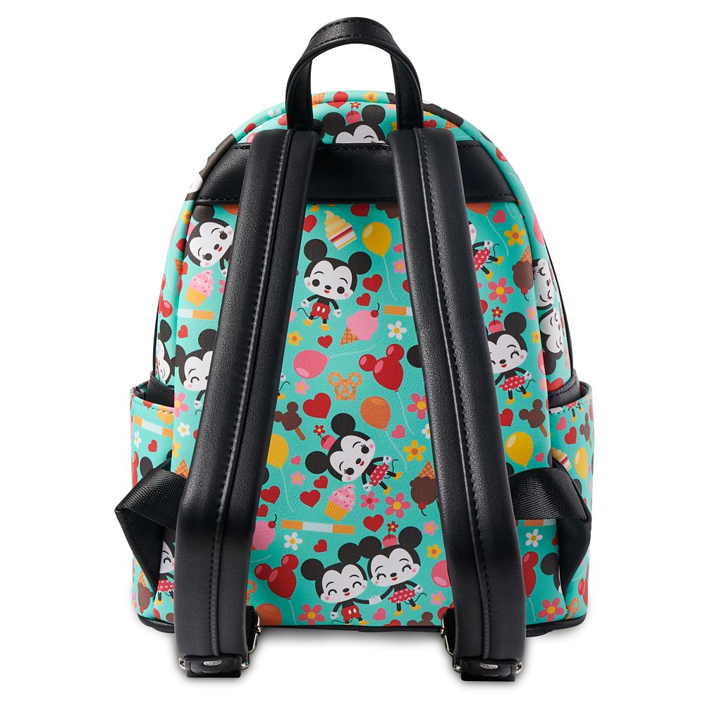Mickey and Minnie Mouse Disney Parks Food Loungefly Mini Backpack
