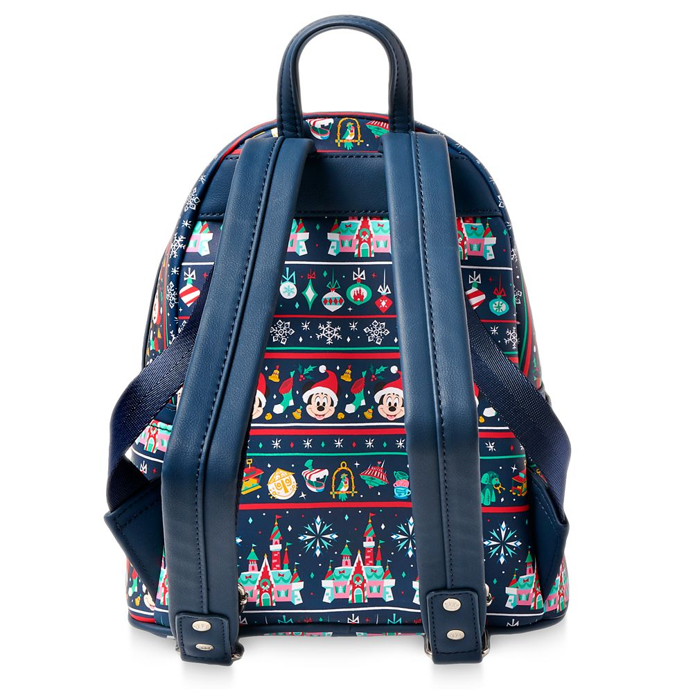 Mickey Mouse Holiday Loungefly Mini Backpack