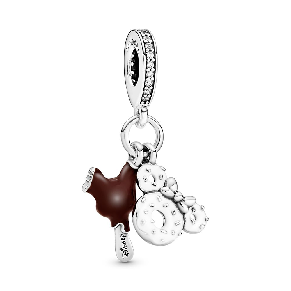 Mickey and Minnie Mouse Parks Food Charm by Pandora Jewelry