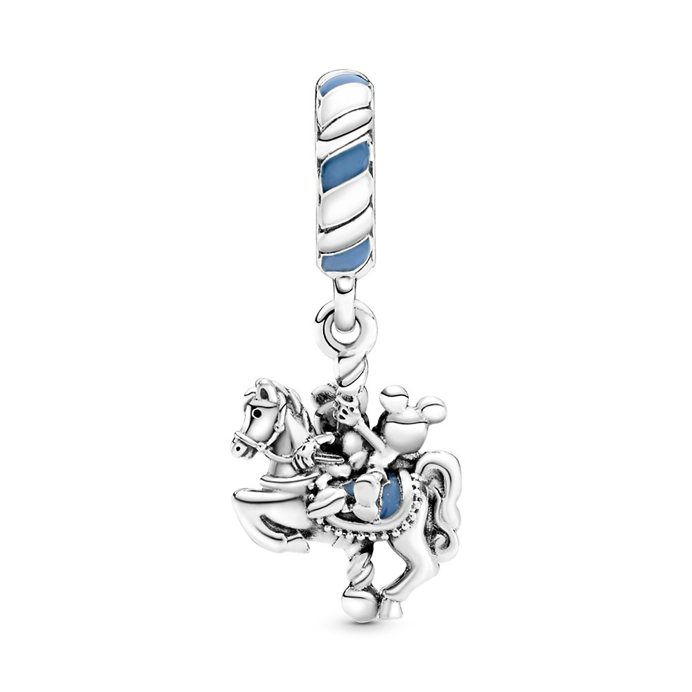 Mickey and Minnie Mouse Carrousel Charm by Pandora Jewelry