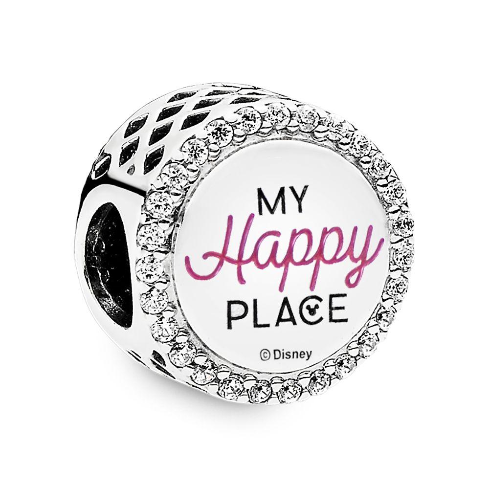Fantasyland Castle ''My Happy Place'' Charm by Pandora Jewelry