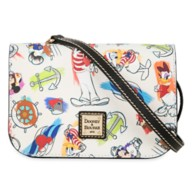 Captain Mickey Mouse & Friends Disney Ink & Paint Crossbody Bag by Dooney & Bourke – Disney Cruise Line