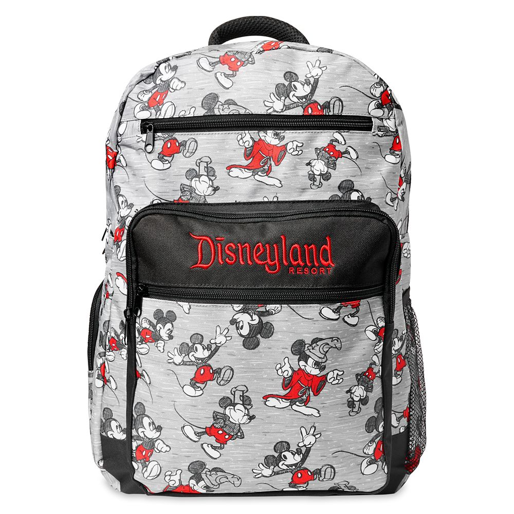 shopdisney.com - Mickey Mouse Sketch Backpack  Disneyland 49.99 USD