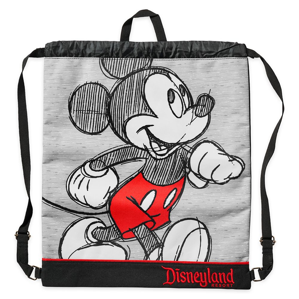 Mickey Mouse Sketch Cinch Sack – Disneyland