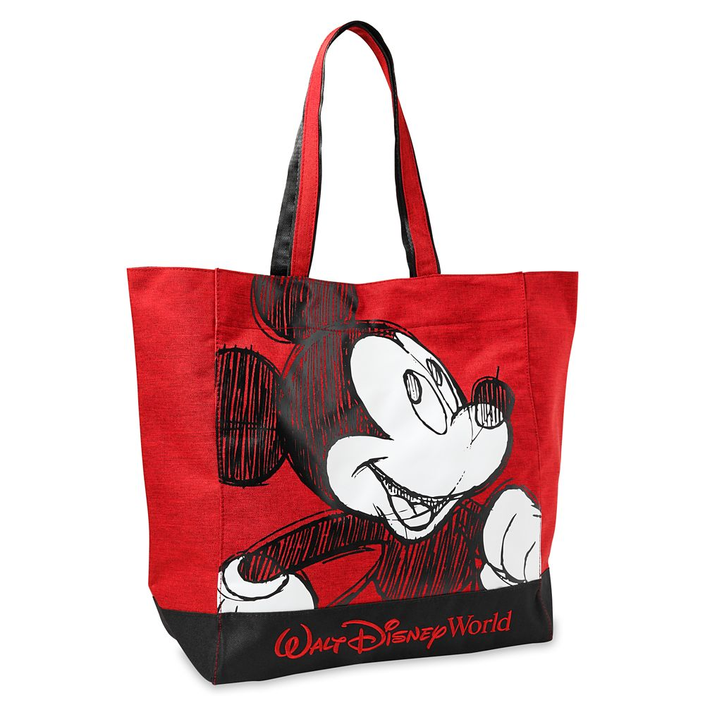 Mickey Mouse Sketch Tote Bag – Walt Disney World