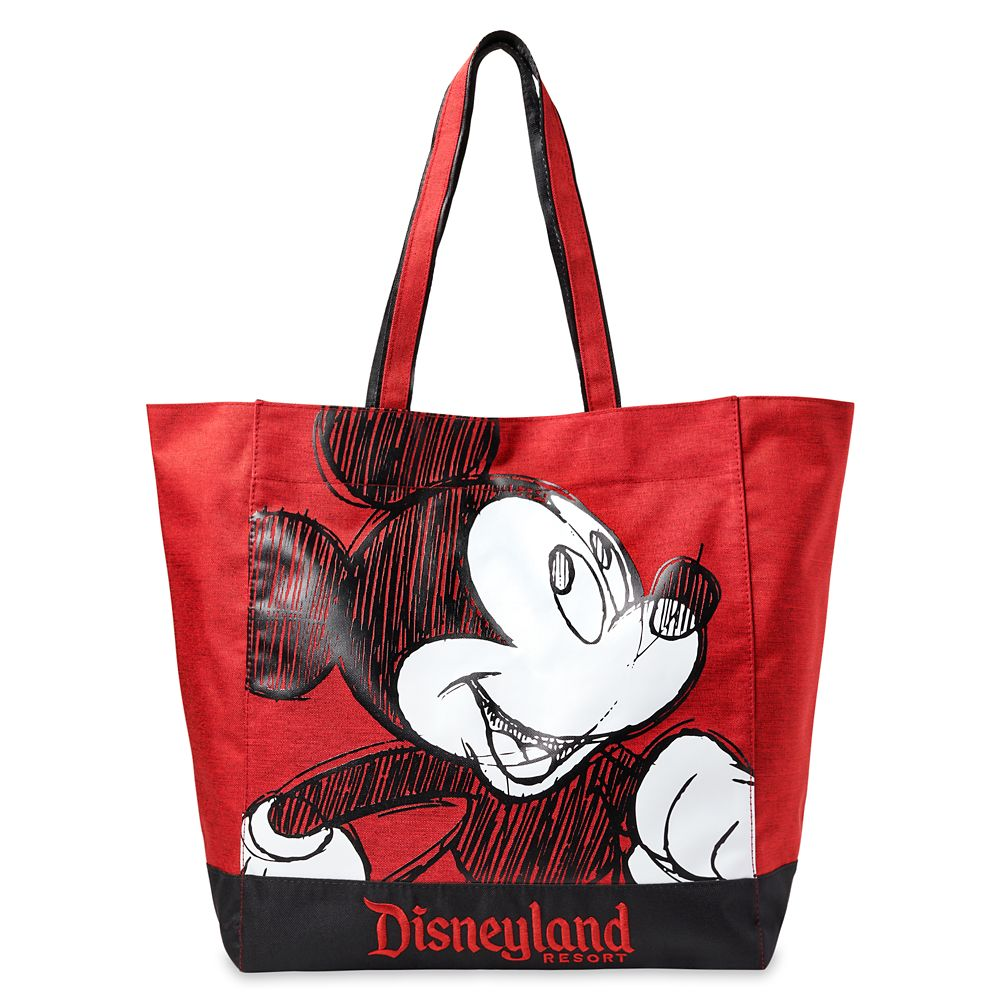 shopdisney.com - Mickey Mouse Sketch Tote Bag  Disneyland 34.99 USD
