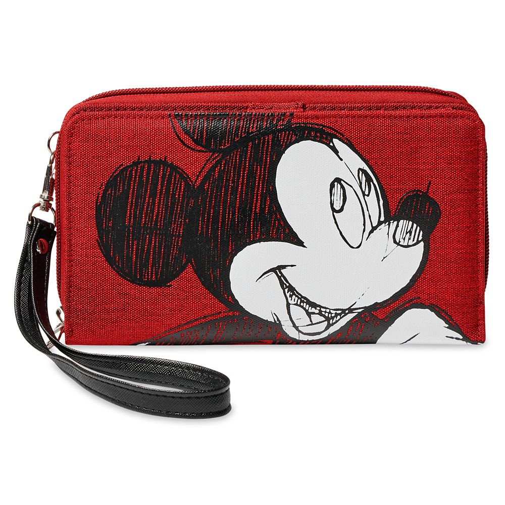 Mickey Mouse Sketch Wristlet – Disneyland