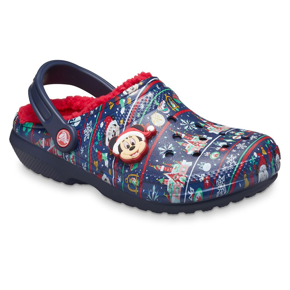 Mickey Mouse Holiday Clogs for Adults by Crocs