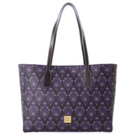 The Haunted Mansion Wallpaper Dooney & Bourke Tote Bag