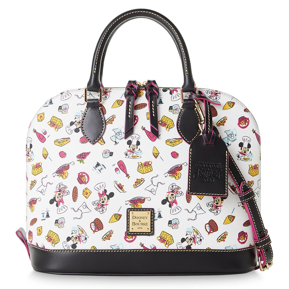 Mickey and Minnie Mouse Dooney and Bourke Satchel – Epcot International Food & Wine Festival 2020