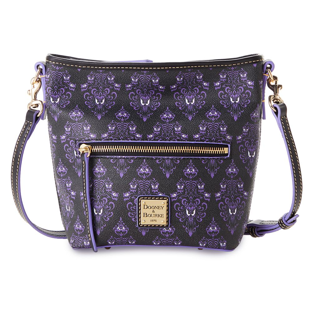 The Haunted Mansion Wallpaper Dooney & Bourke Crossbody Bag