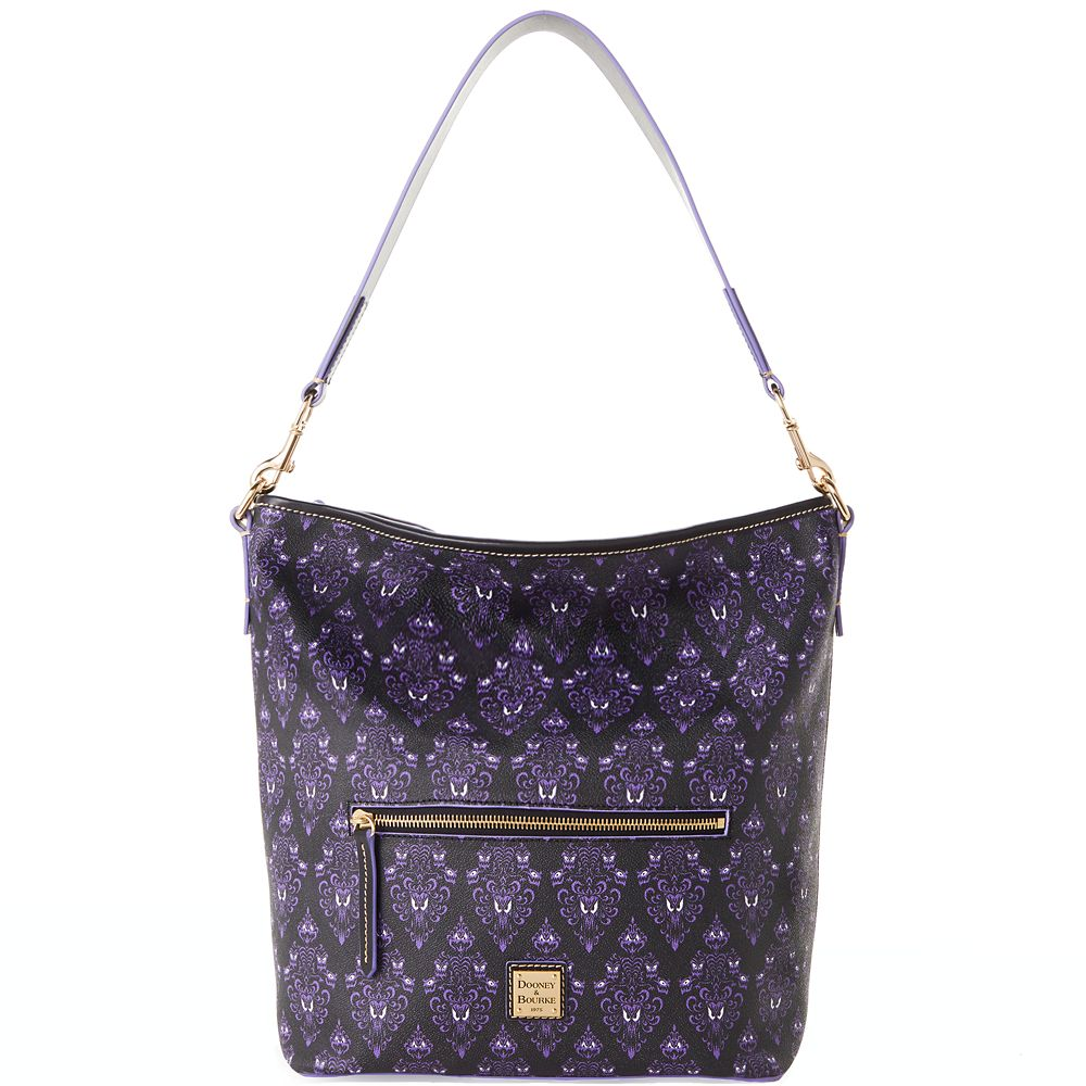The Haunted Mansion Wallpaper Dooney & Bourke Hobo Bag