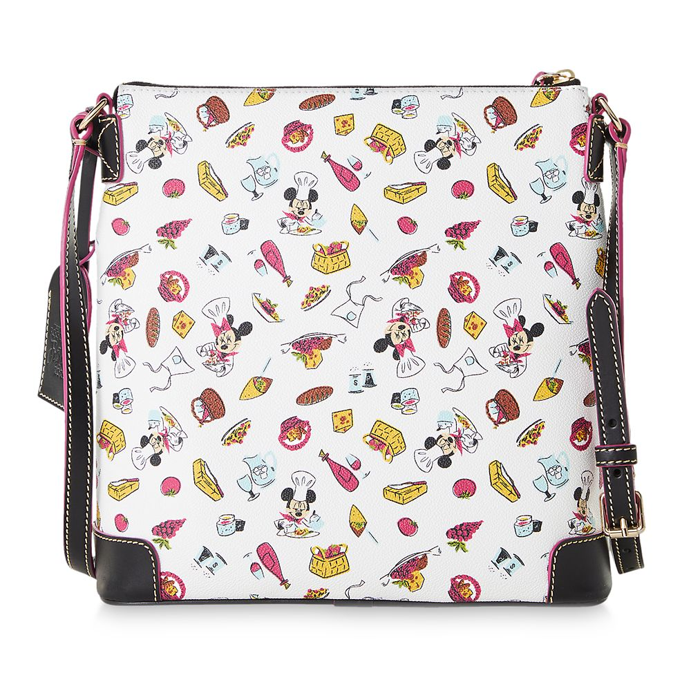 Mickey and Minnie Mouse Dooney and Bourke Letter Carrier Bag – Epcot International Food & Wine Festival 2020
