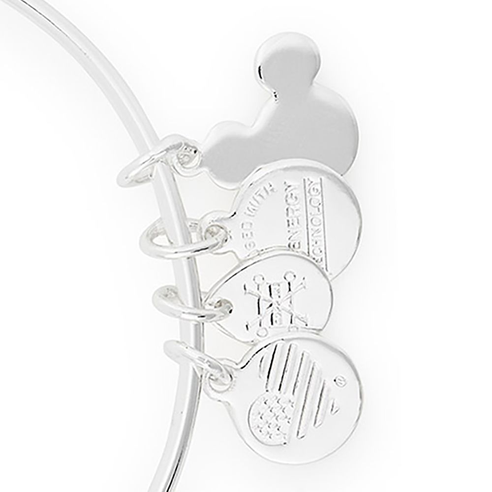 Mickey and Minnie Mouse Ice Skating Bangle by Alex and Ani