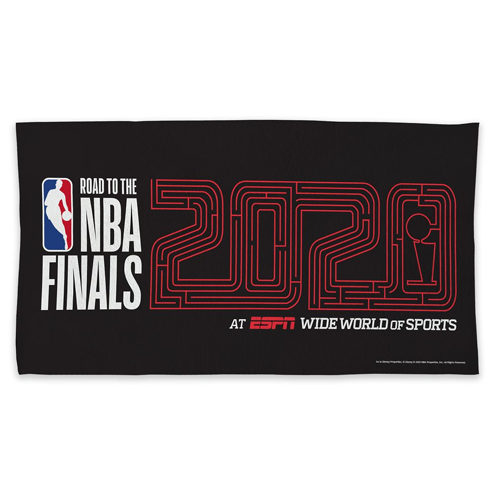 ''Road to the NBA Finals'' Court Towel – NBA Experience