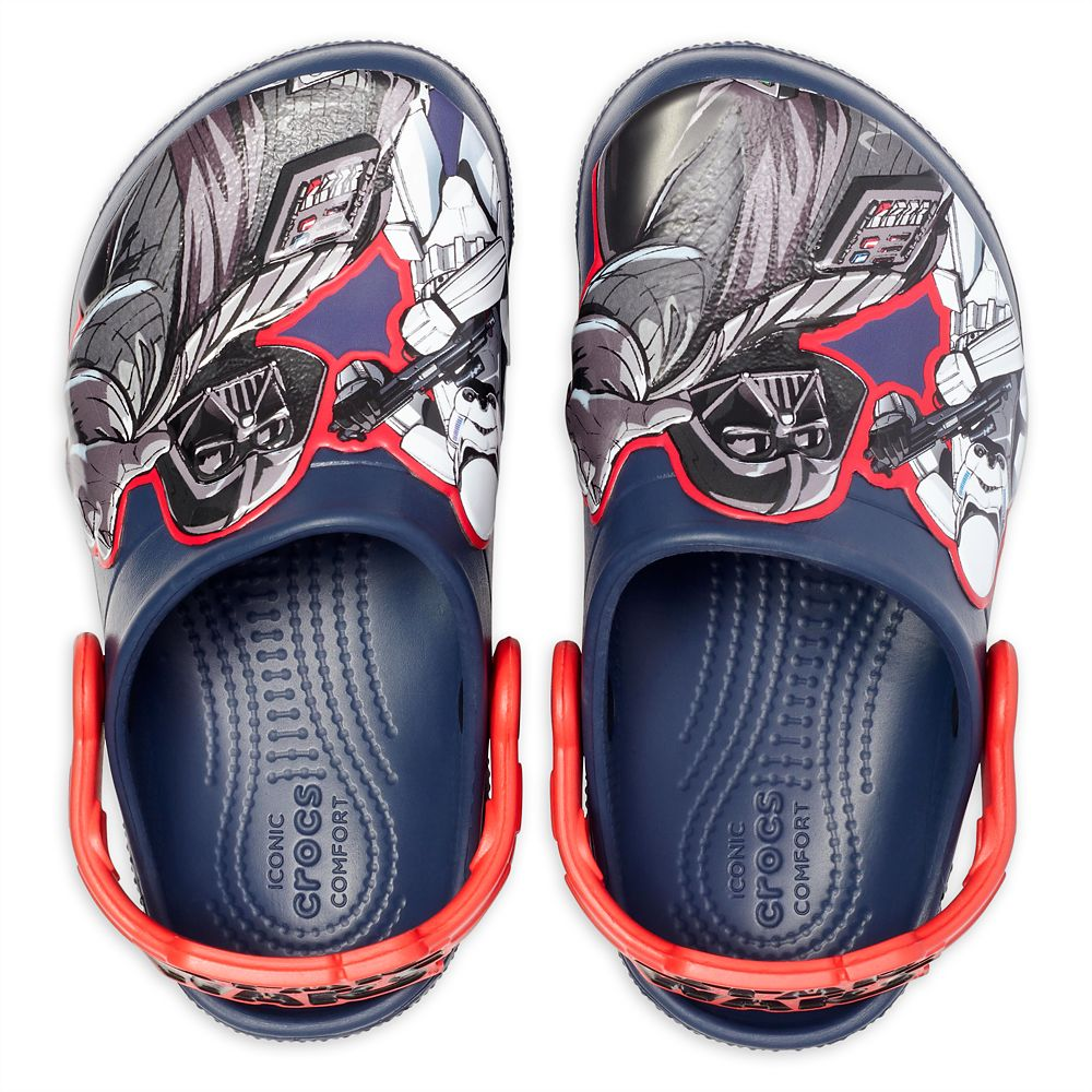 Darth Vader and Stormtrooper Clogs for Kids by Crocs – Star Wars