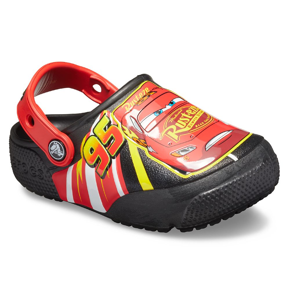 Lightning McQueen Clogs for Kids by Crocs – Cars