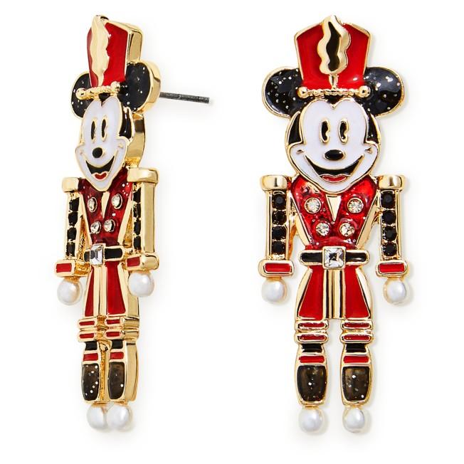 Mickey Mouse Holiday Nutcracker Earrings by BaubleBar