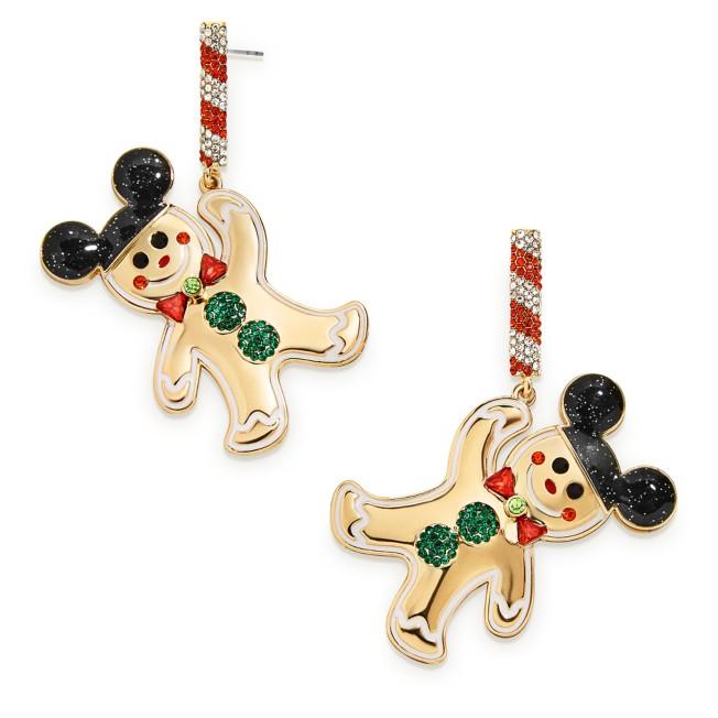 Mickey Mouse Ear Hat Gingerbread Man Earrings by BaubleBar