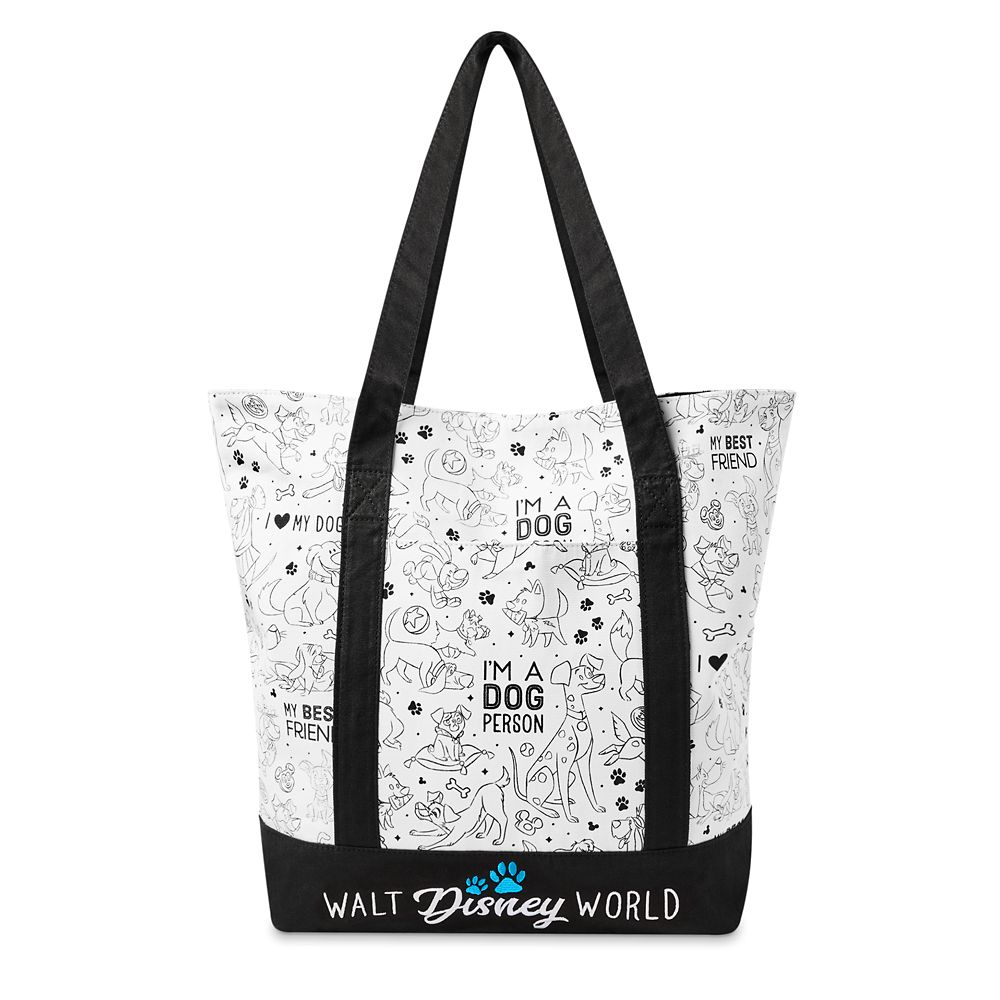 shopdisney.com - Disney Dogs Tote Bag  Walt Disney World 34.99 USD