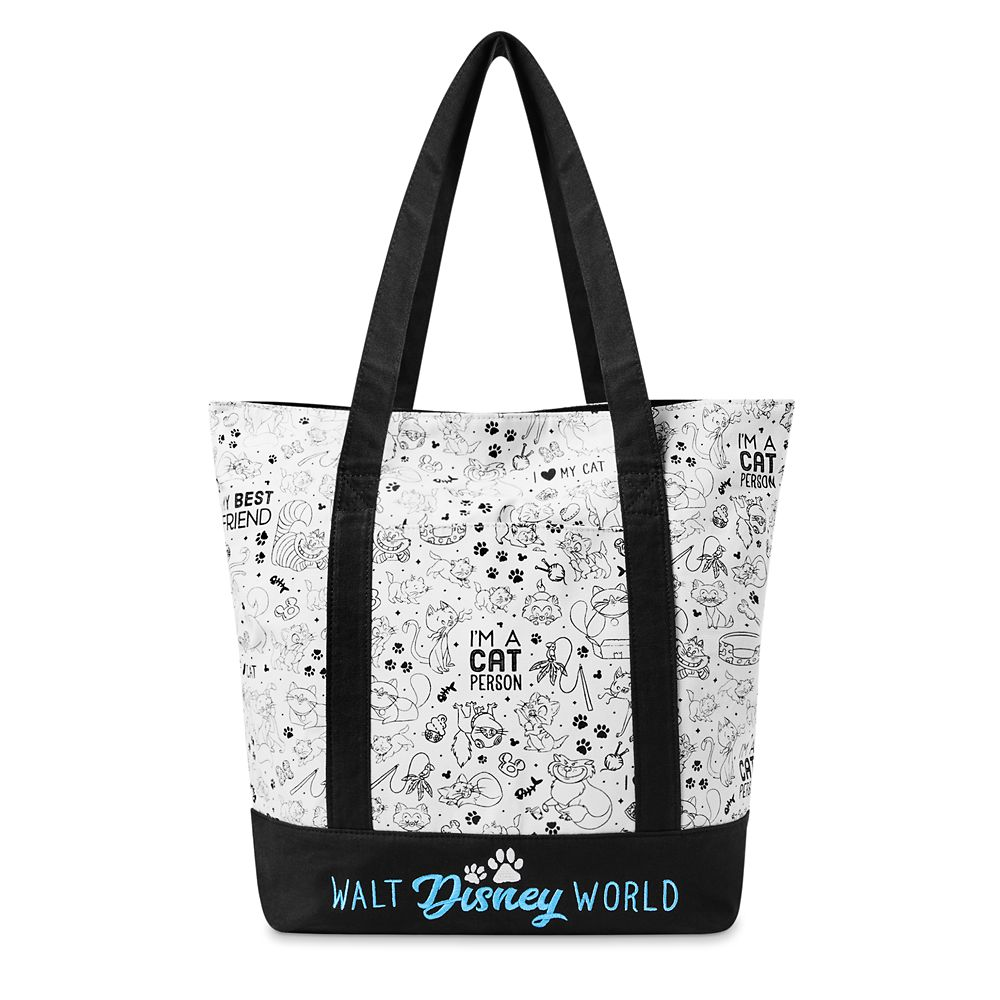 shopdisney.com - Disney Cats Tote Bag  Walt Disney World 34.99 USD