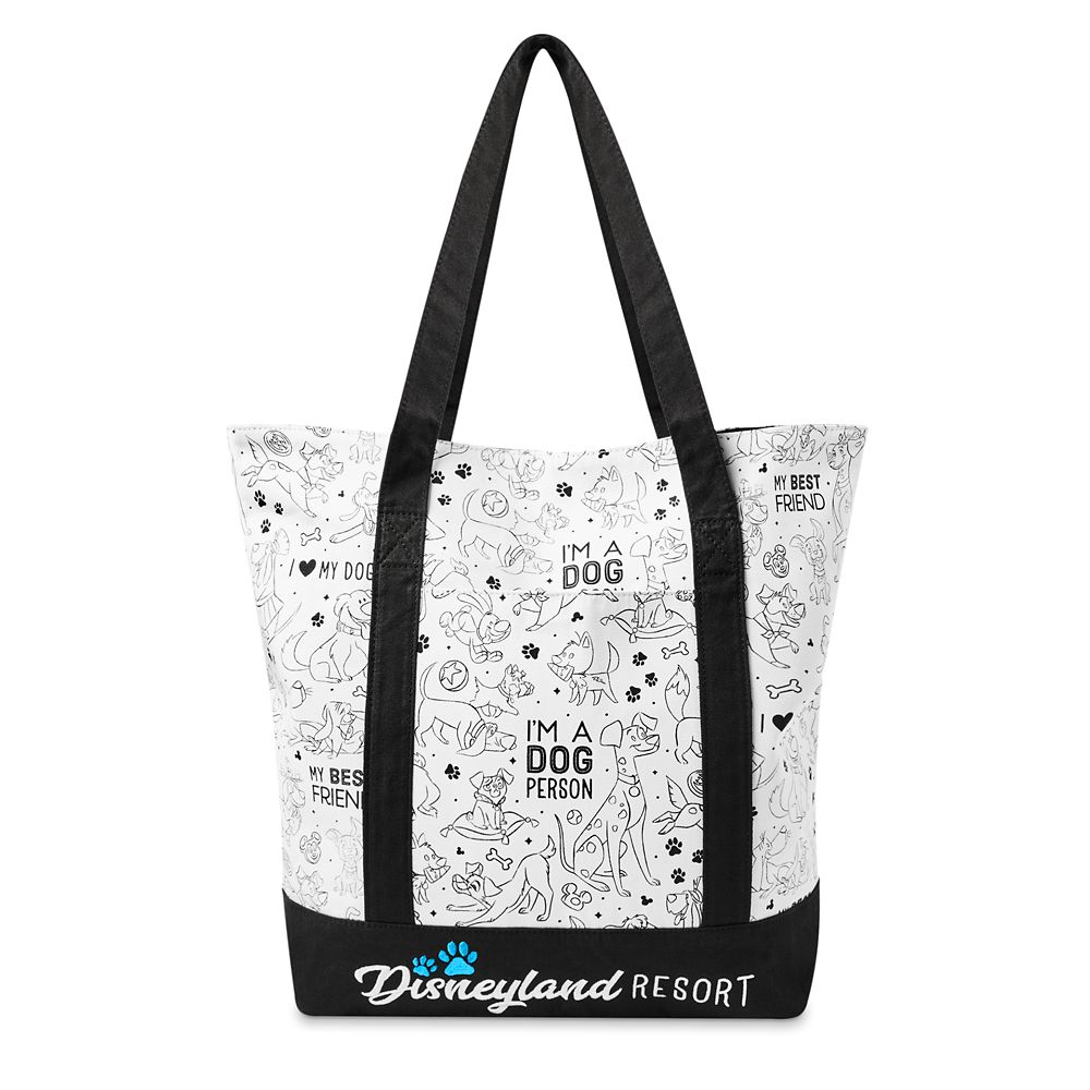 shopdisney.com - Disney Dogs Tote Bag  Disneyland 34.99 USD