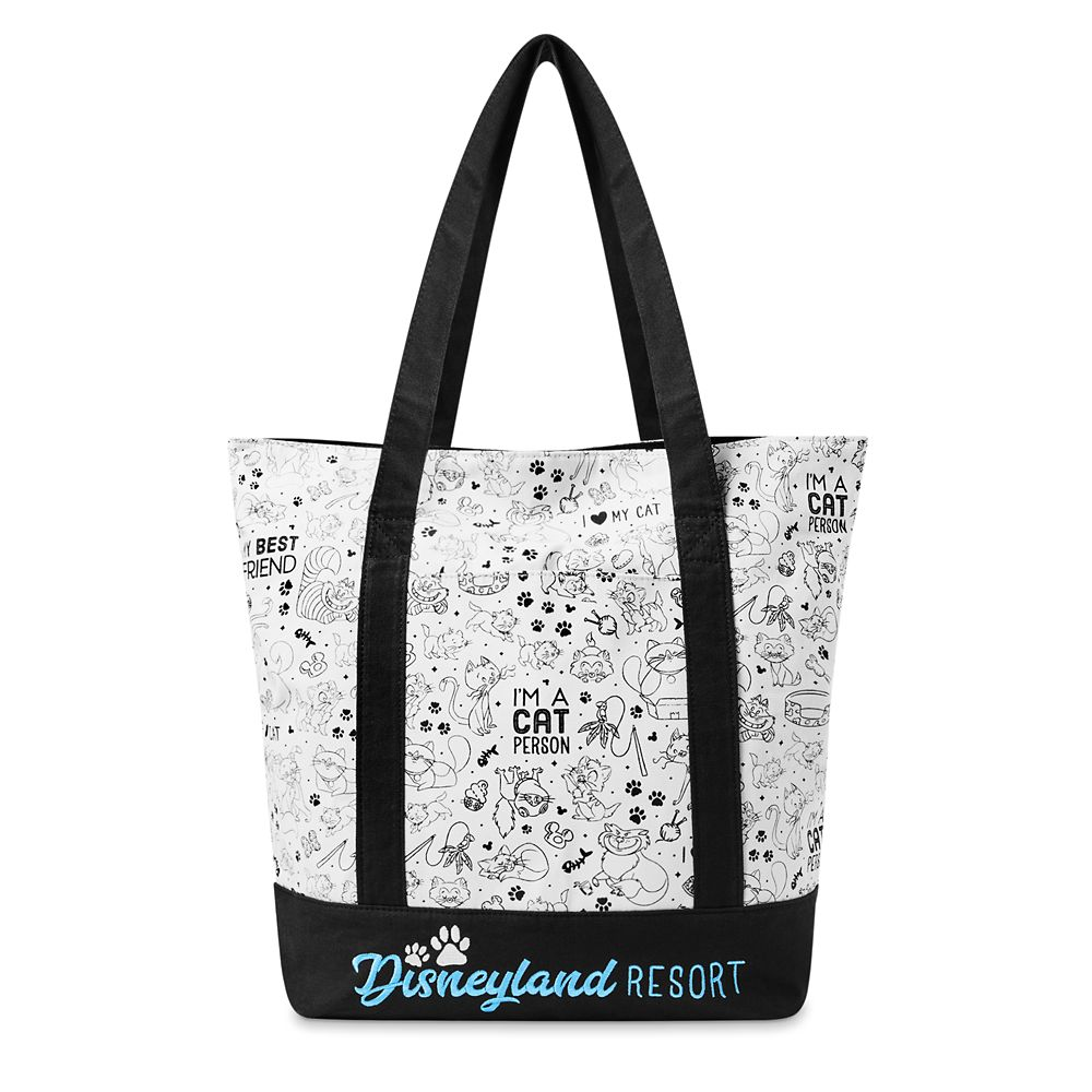 shopdisney.com - Disney Cats Tote Bag  Disneyland 34.99 USD