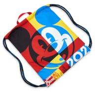 Mickey Mouse Cinch Sack Tote – Walt Disney World 2021