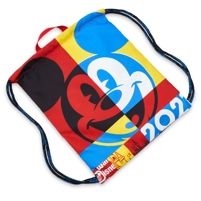 Mickey Mouse Cinch Sack Tote – Walt Disney World 2021