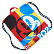 Mickey Mouse Cinch Sack Tote – Disneyland 2021