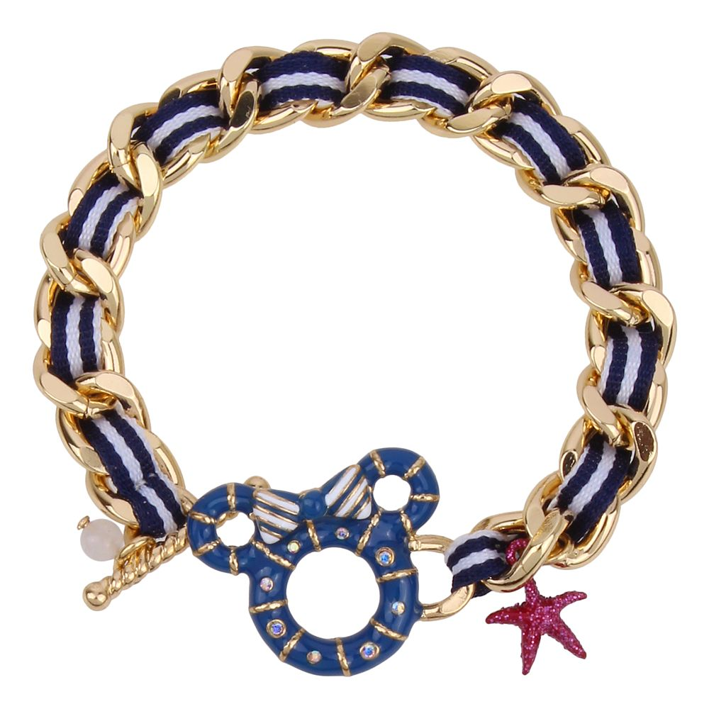 Minnie Mouse Ring Buoy Bracelet by Betsey Johnson