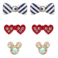 Mickey and Minnie Mouse Earring Set by Betsey Johnson