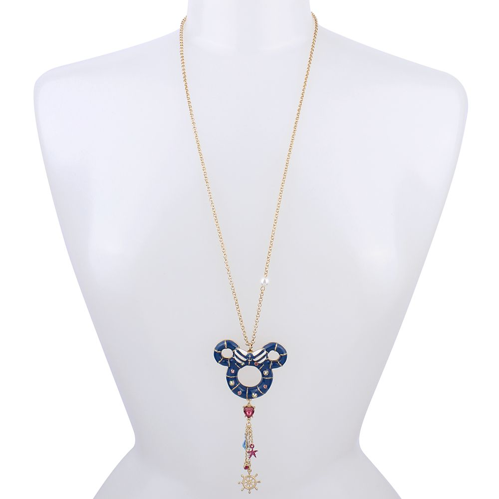 Minnie Mouse Ring Buoy Necklace by Betsey Johnson