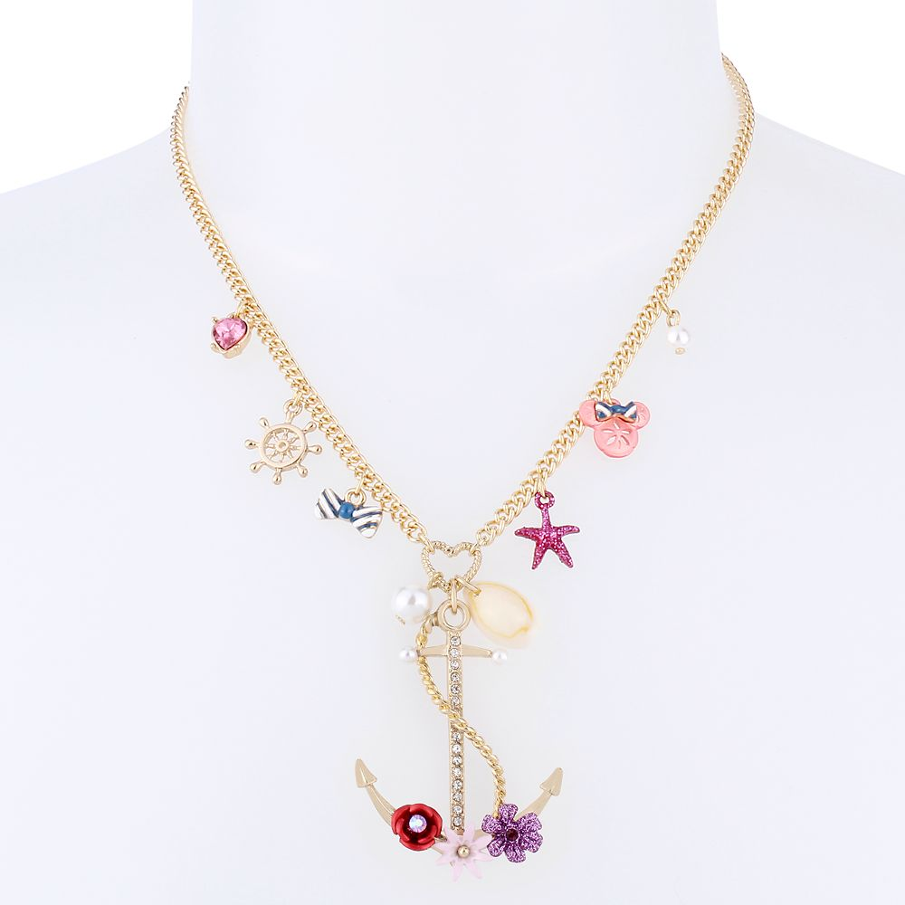 Minnie Mouse Anchor Necklace by Betsey Johnson