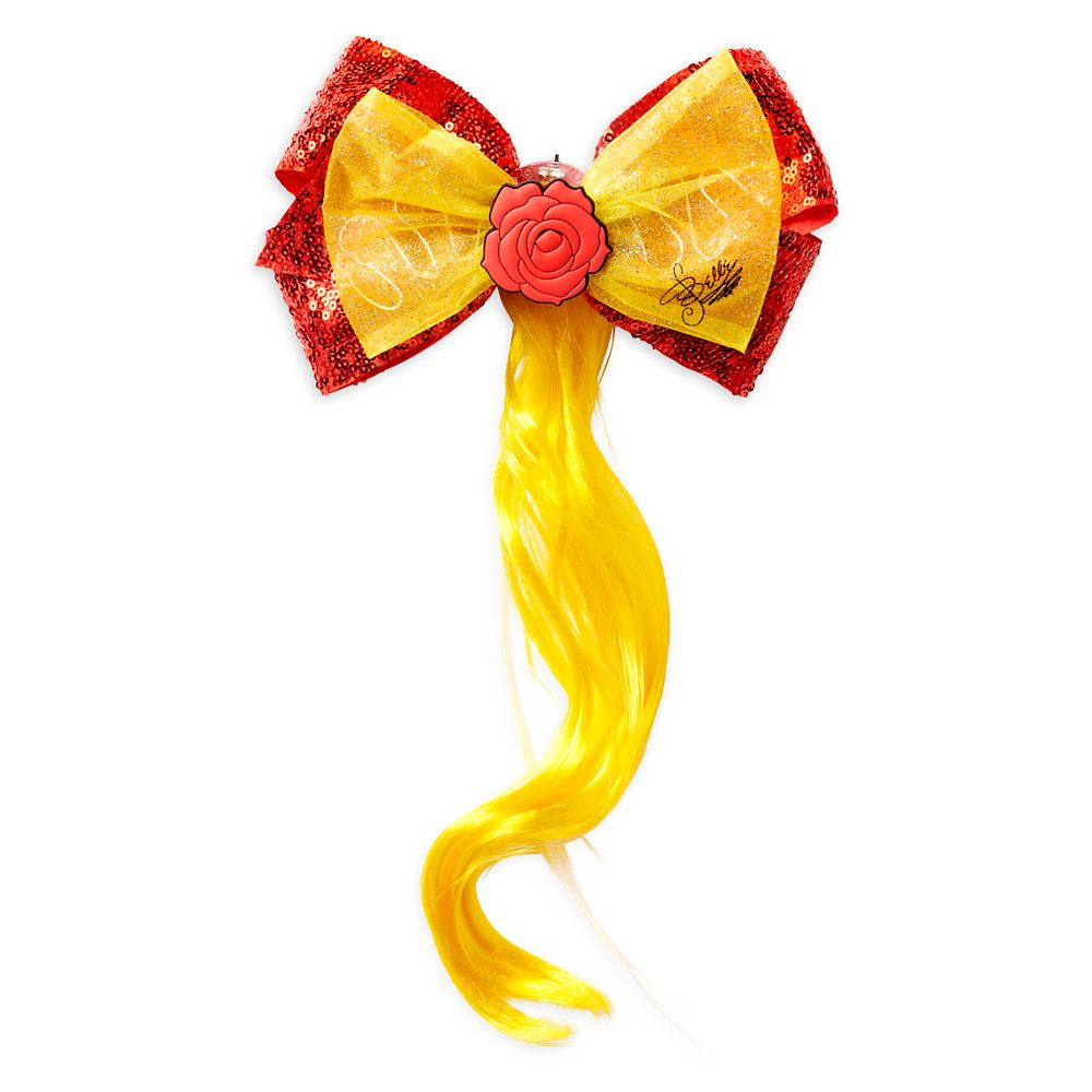 Belle Light-Up Bow and Hair Extension – Beauty and the Beast