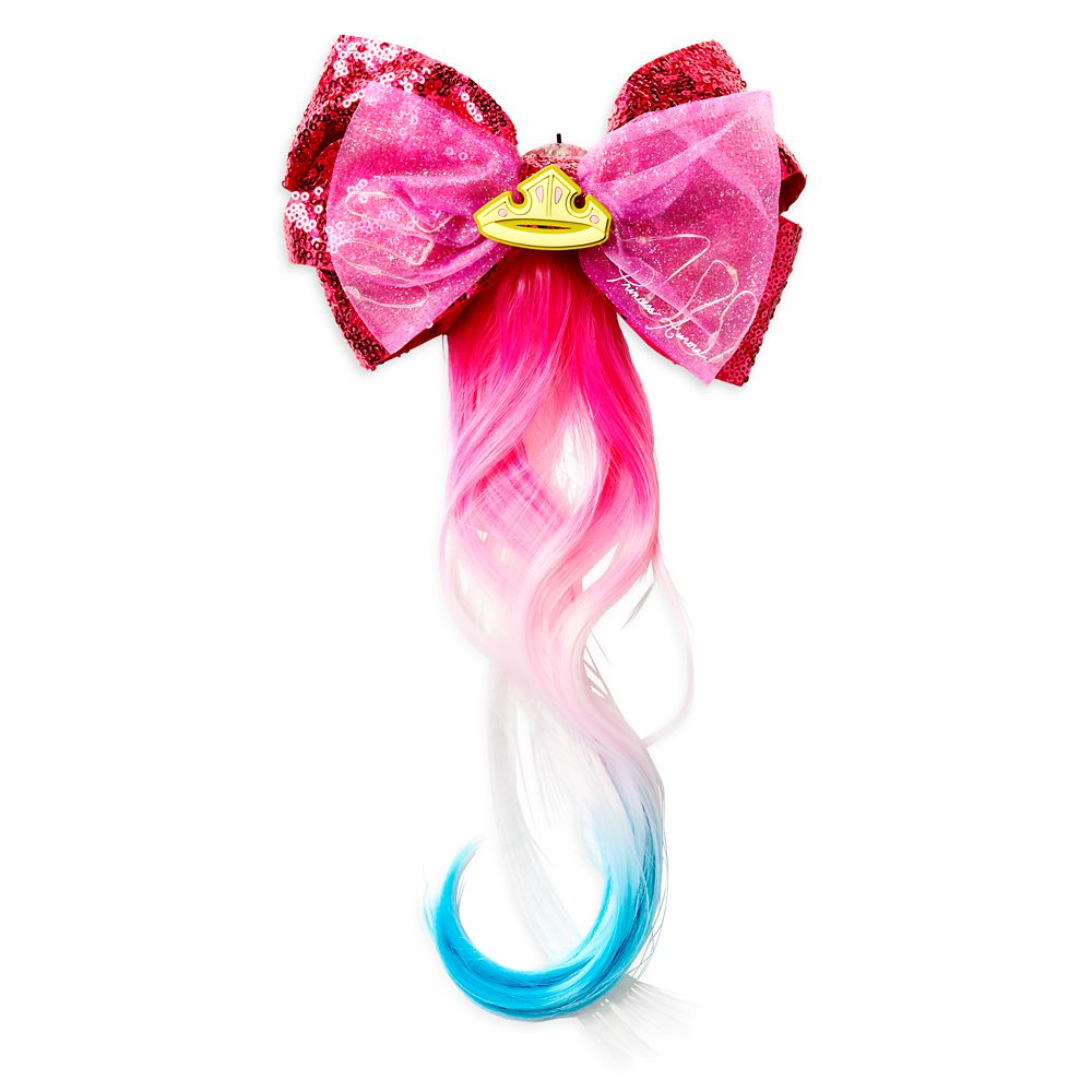 Aurora Light-Up Bow and Hair Extension – Sleeping Beauty