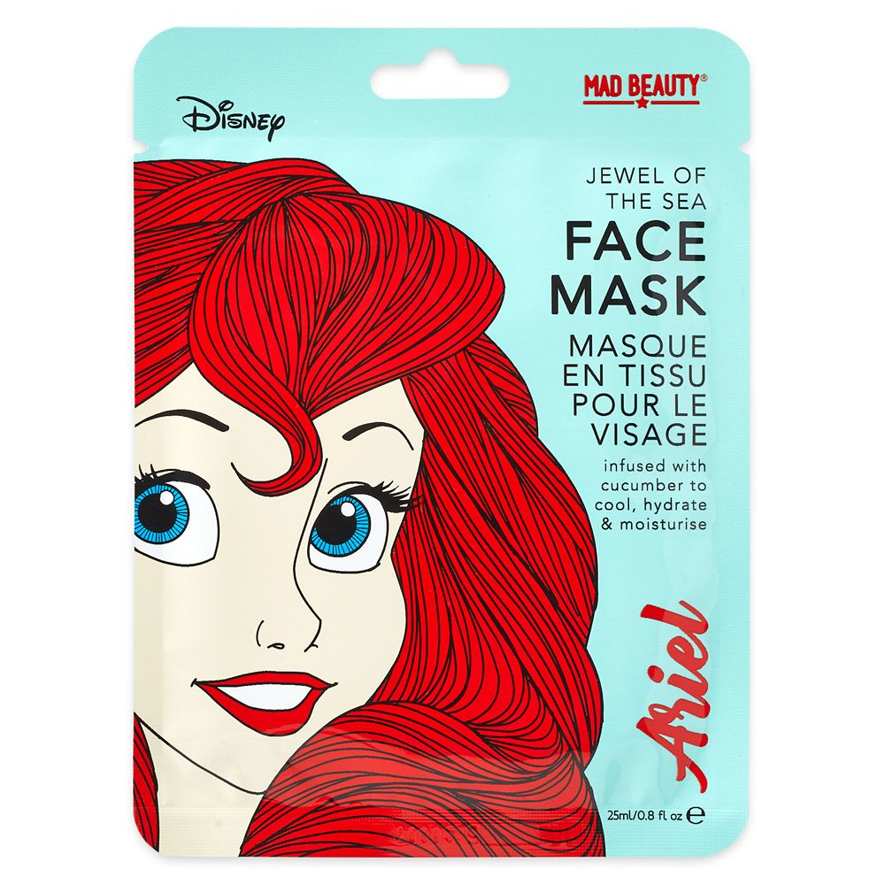 Ariel Jewel of the Sea Mad Beauty Sheet Face Mask