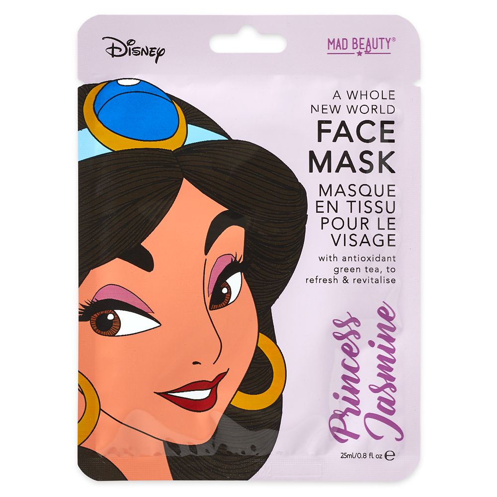Jasmine A Whole New World Mad Beauty Sheet Face Mask