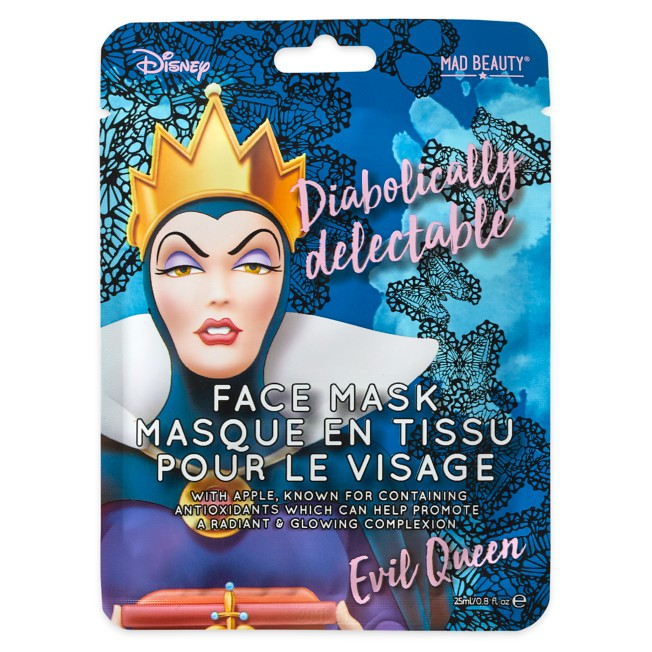 Evil Queen Diabolically Delectable Mad Beauty Sheet Face Mask