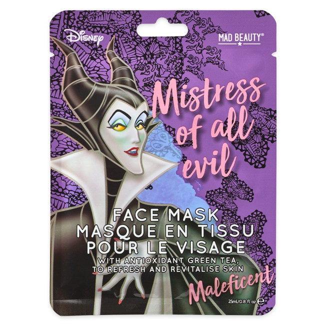 Maleficent Mistress of Evil Mad Beauty Sheet Face Mask