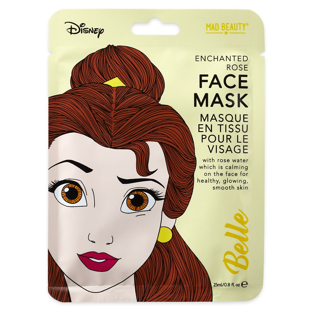 Belle Enchanted Rose Mad Beauty Sheet Face Mask