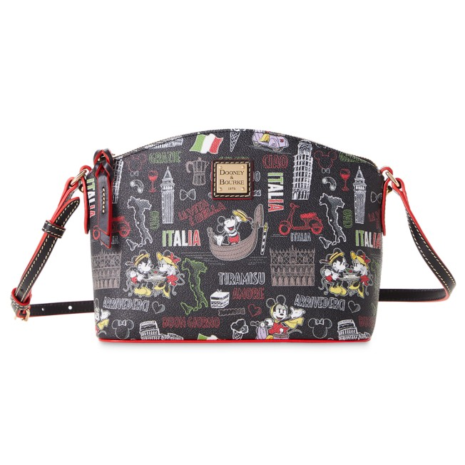 Mickey and Minnie Mouse ''Italia'' Dooney & Bourke Crossbody Bag