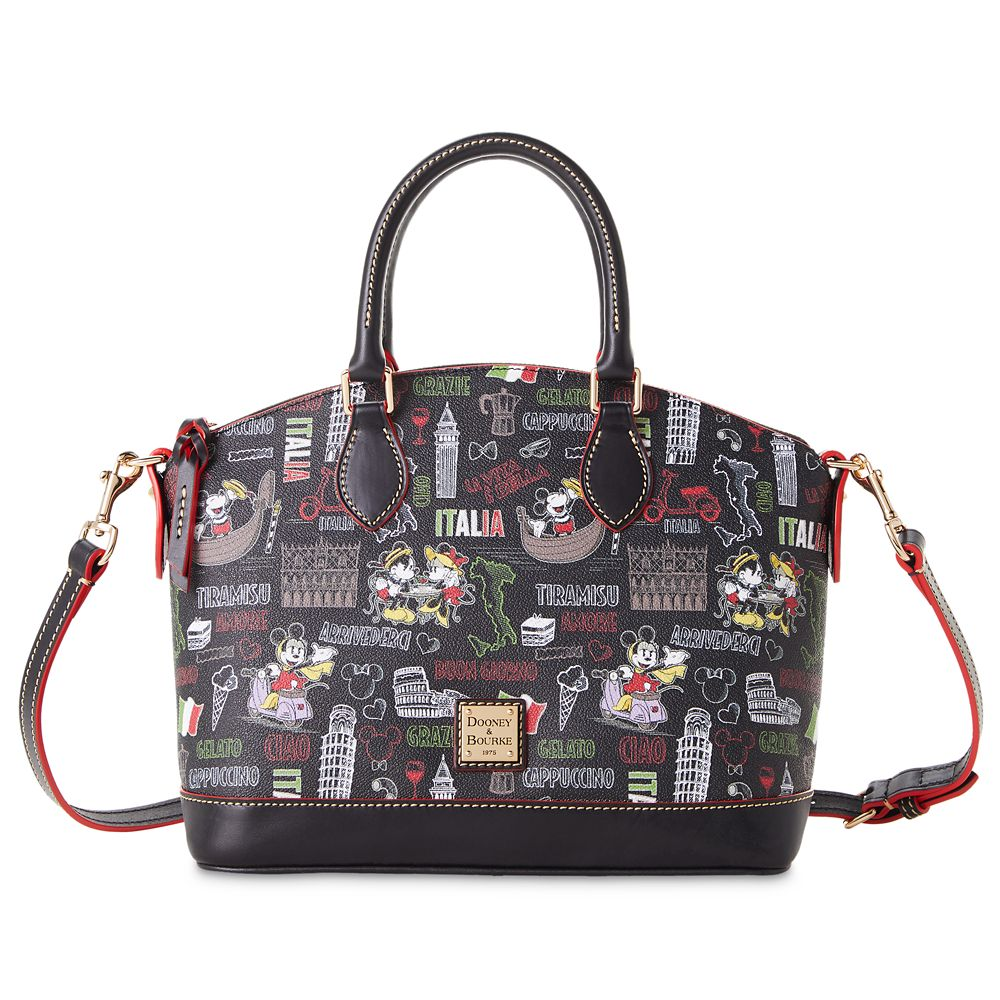 "shopdisney.com - Mickey and Minnie Mouse ""Italia"" Dooney & Bourke Satchel Official shopDisney 298.00 USD"