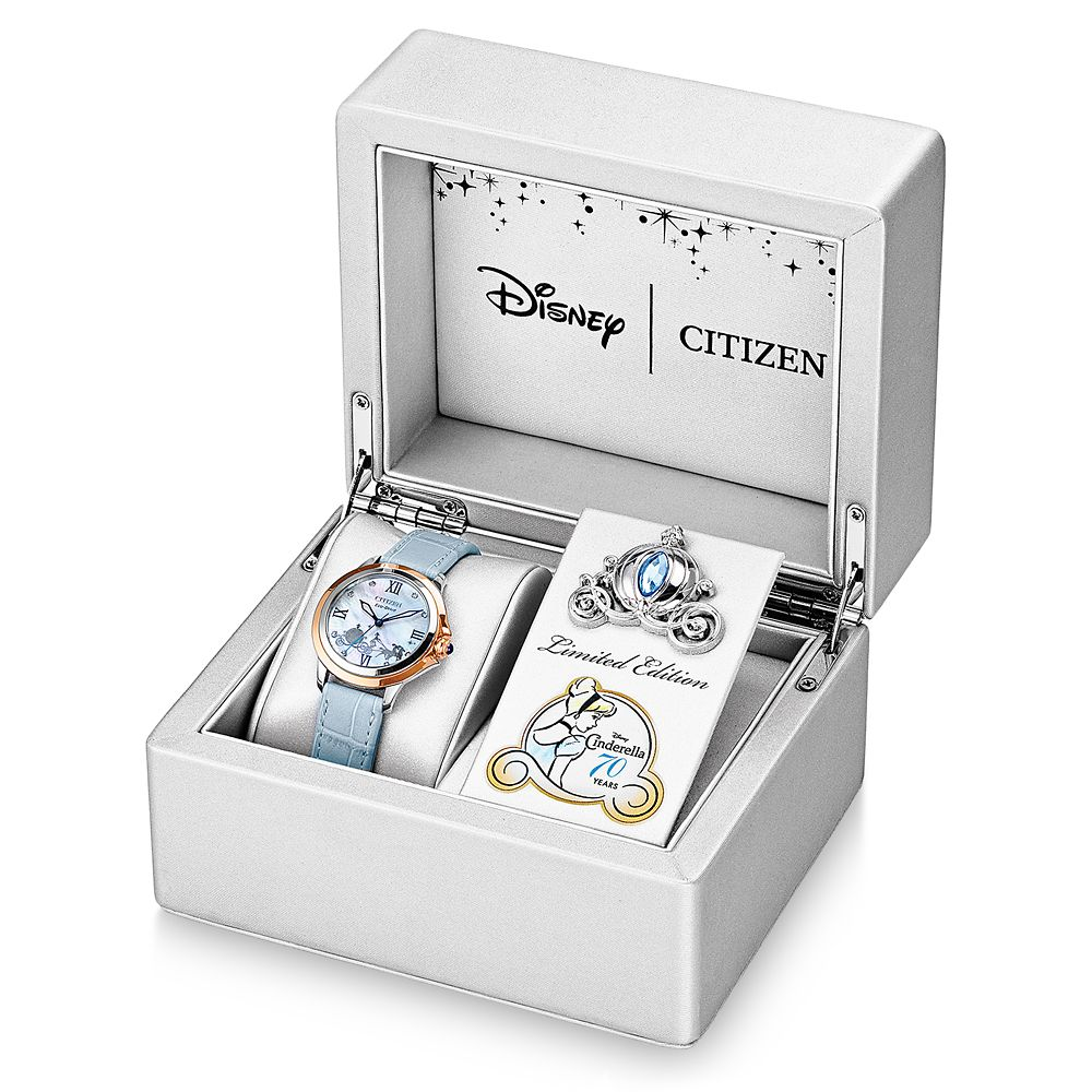 Cinderella 70th Anniversary Eco-Drive Watch for Women by Citizen – Limited Edition